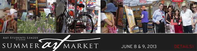 Art Students League of Denver Summer Art Market, June 8 & 9