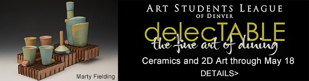 delecTABLE by Art Students League of Denver, Opens Friday, April 6, 6-9pm, $10
