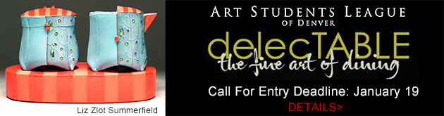 Art Students League of Denver Call for Entry, Delectable: the fine art of dining, deadline January 19, 2020