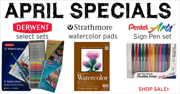 April Specials through April 30, 2017
