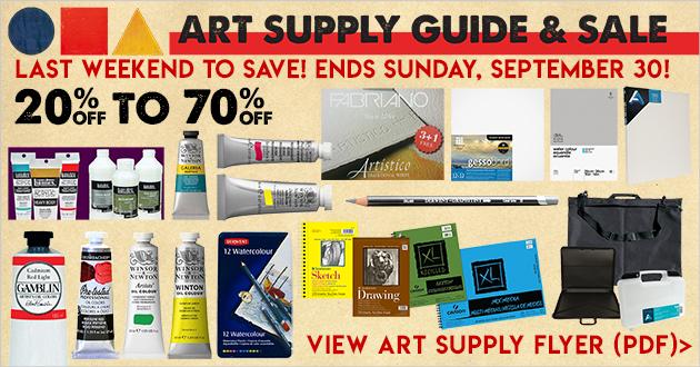 Meininger art materials denver co art supply guide sale thru september 30 2018 malvernweather Gallery
