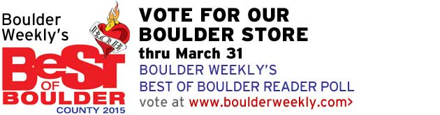 Boulder Weekly's Best of Boulder 2015