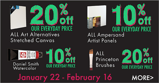 10% and 20% OFF OUR EVERYDAY LOW PRICES on SELECT items through February 16, 2020