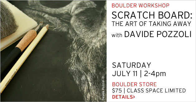 Scratchboard: The Art of Taking Away with Davide Pozzoli, July 11