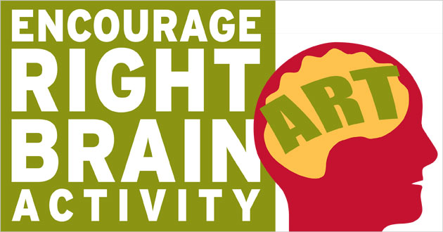 Encourage Right Brain Activity : ART