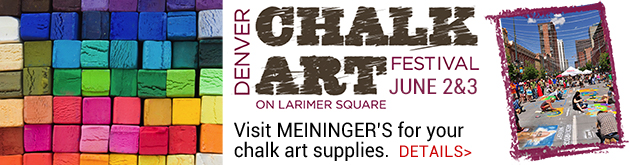 Stock up on Chalk and attend the Chalk Art Festival in Larimer Square, June 2-3