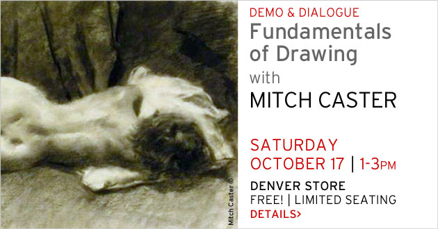 Demo & Dialogue: Mitch Caster, Denver store, October 17, 1-3