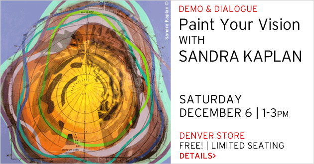 Demo & Dialogue, Sandra Kaplan, December 6, 1-3pm
