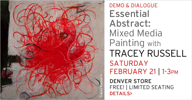 Demo & Dialogue, Terry Russell, February 21, 1-3pm