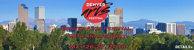 Denver Arts Festival, May 26 & 27 at Stapleton