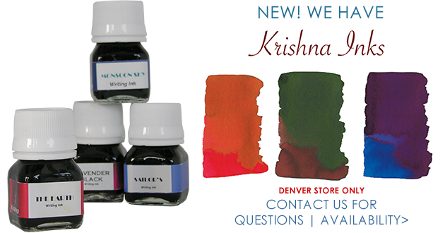 NEW! Krishna Inks. Contact Us for questions and availability