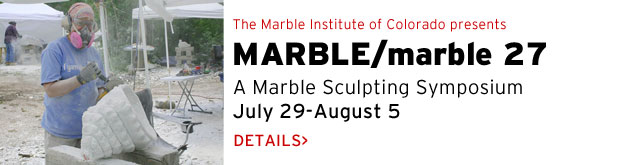 MARBLE/marble 27, marble sculpting symposium, July 2015