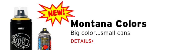 Montana Colors Small Cans