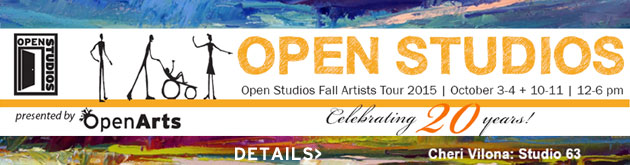 Boulder Open Studios, October 3-4 & 10-11, 12-6pm