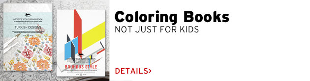 Coloring Books: not just for kids