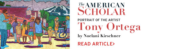 Portrait of an Artist: Tony Ortega in American Scholar by Noelani Kirschner